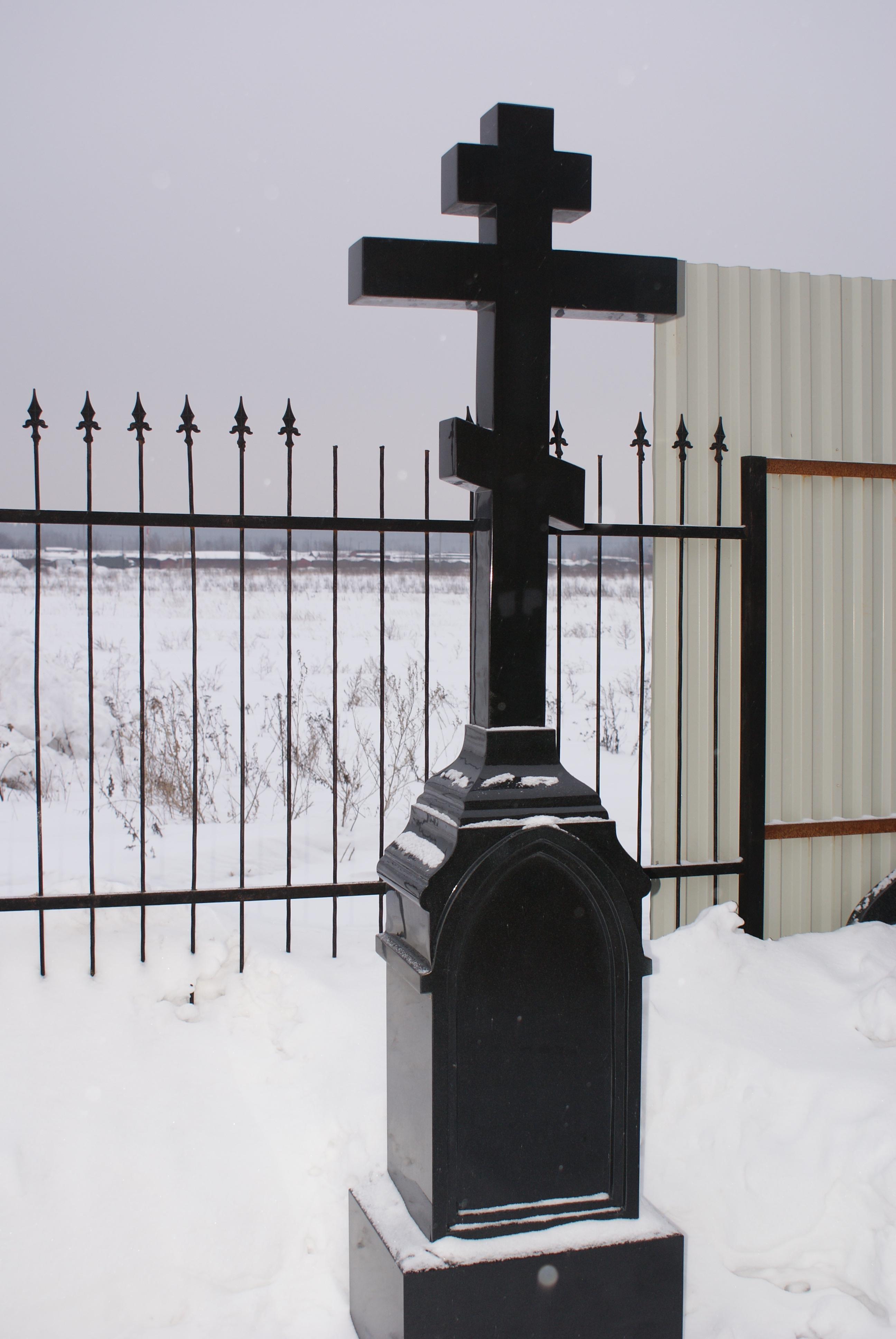 Гранитный крест на могилу цена изготовление памятников в белгороде ессентуках