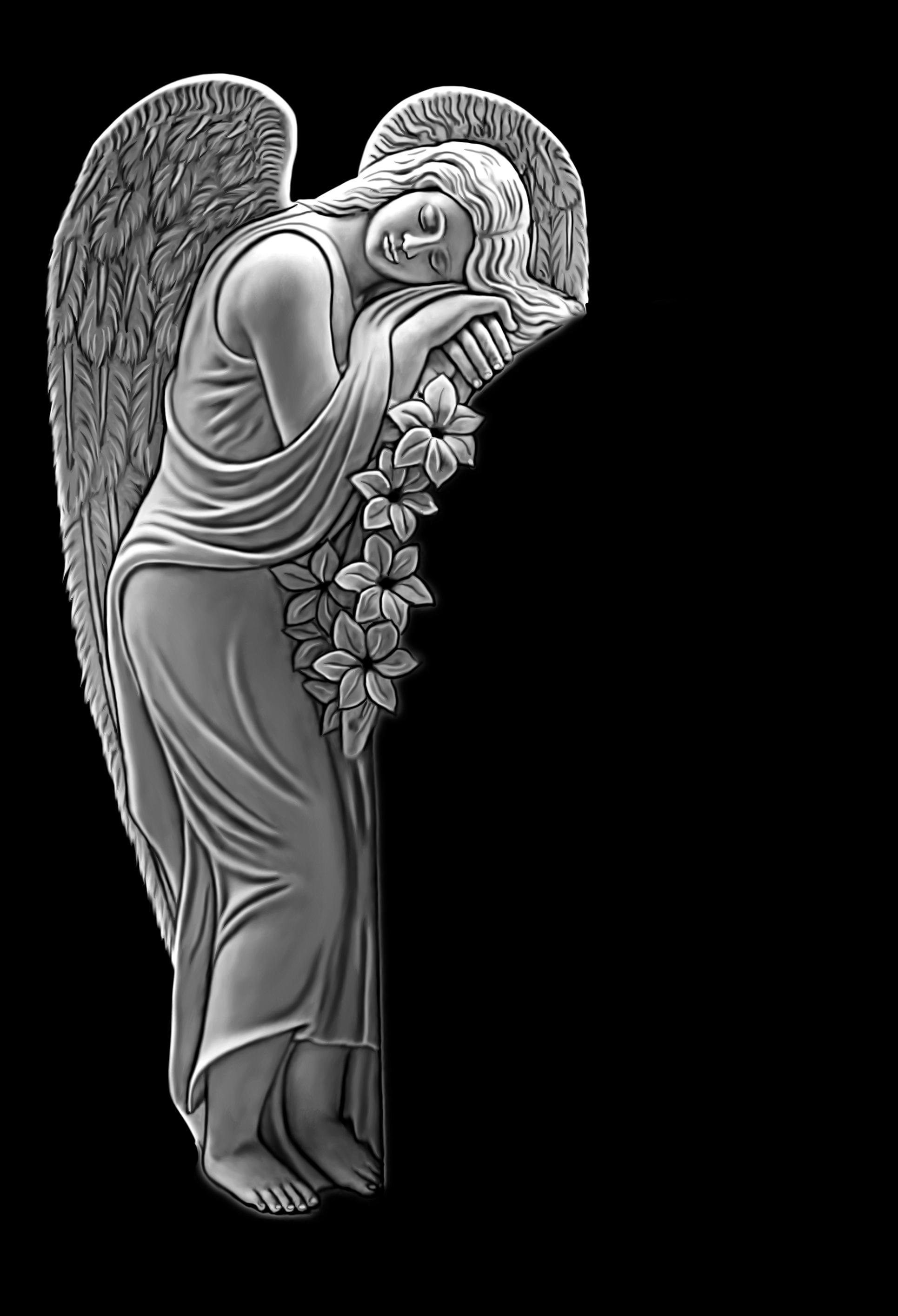 Картинки ангела на надгробьях