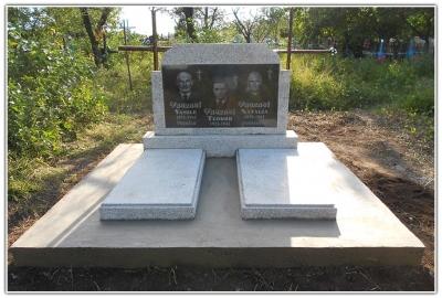 Заказать памятник на могилу из мраморной крошки Мраморный крестик Дивногорск