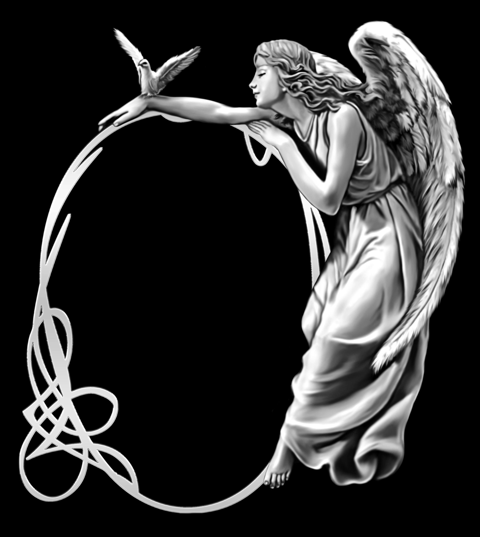Картинки на памятник ангелы