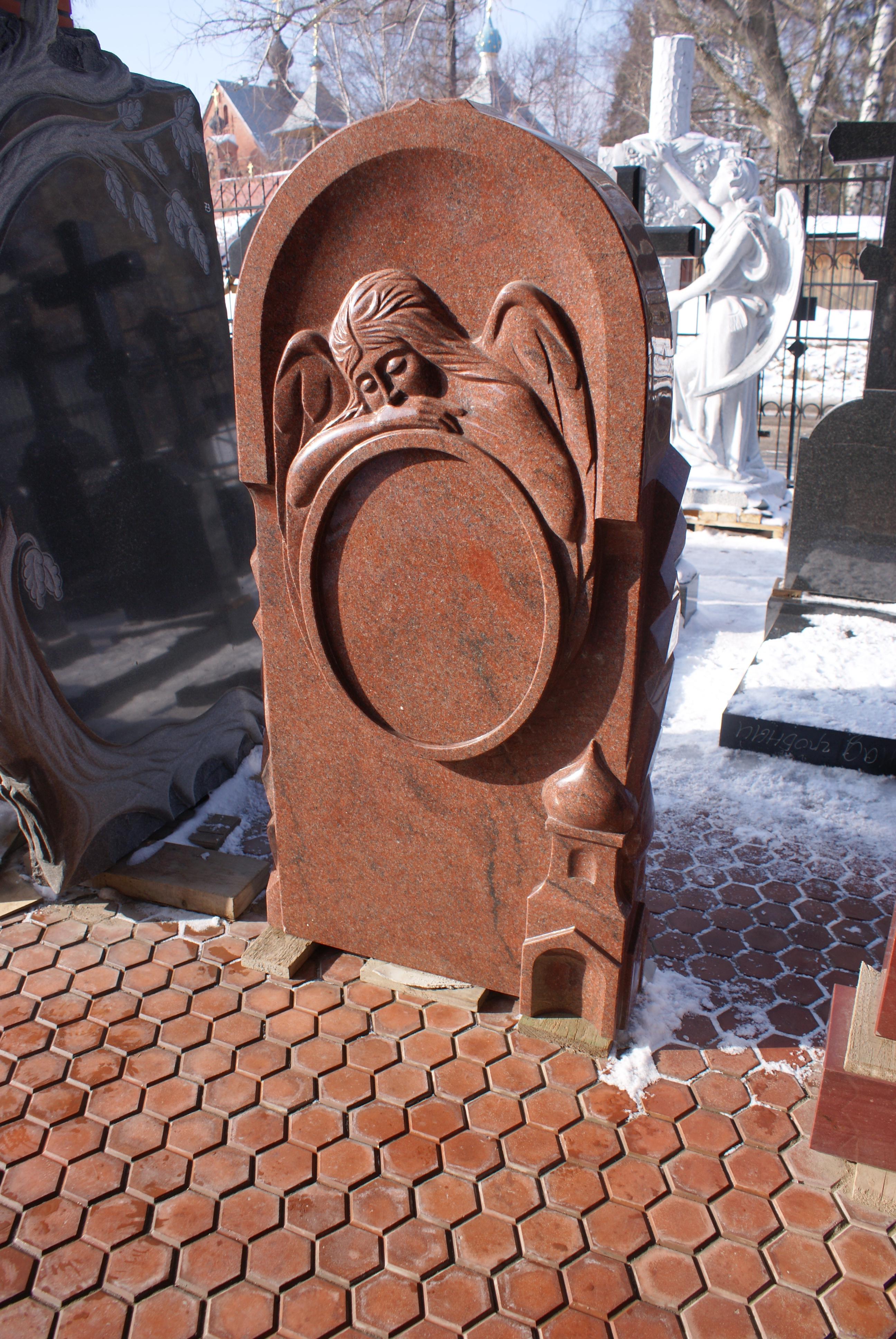 Красный мрамор памятник заказать памятники из гранитаВладыкино